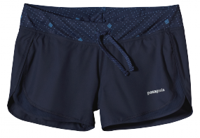 Womens Strider Shorts Navy Blue