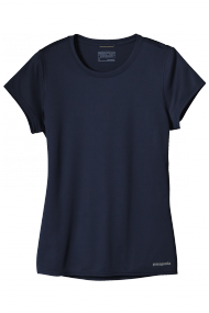 Womens Fore Runner Shirt navy blue