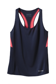 Womens FORE RUNNER TANK navy blue