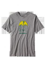 Men's Live Simply® Split Cotton T-Shirt