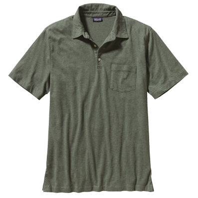 Mens Squeaky Clean Polo Shirt - camp green