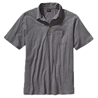 Mens Squeaky Clean Polo Shirt - feather grey