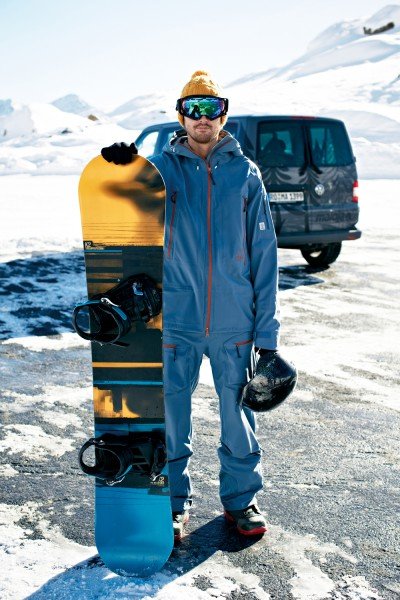 Maloja BargaM. High End Ski Snowboard Hose für Männer frost emotionshot