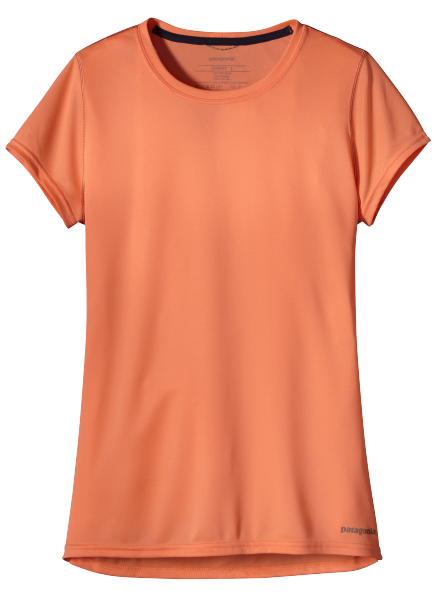 Womens Fore Runner Shirt - Laufshirt peach sherbet