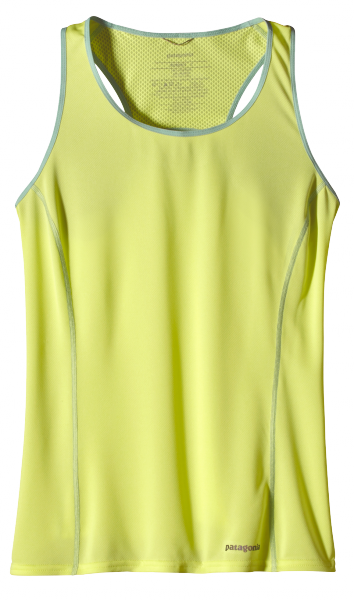Womens Fore Runner Tank - Mayan Yellow