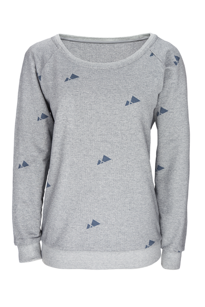 Mountain Reverse Sweater Damen print
