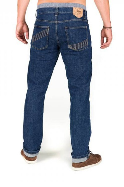 Bleed Functional Jeans Stone washed hinten