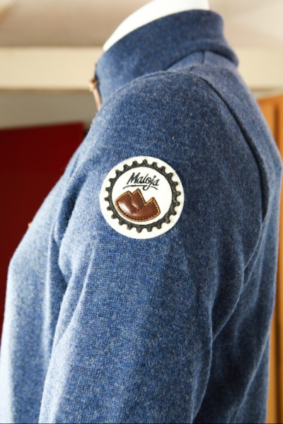 Maloja BobbyM Fleece Jacket men nightfall seitlich detail