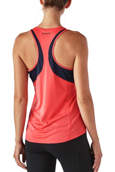 Womens FORE RUNNER TANK Lauf und Funktionsshirt von hinten