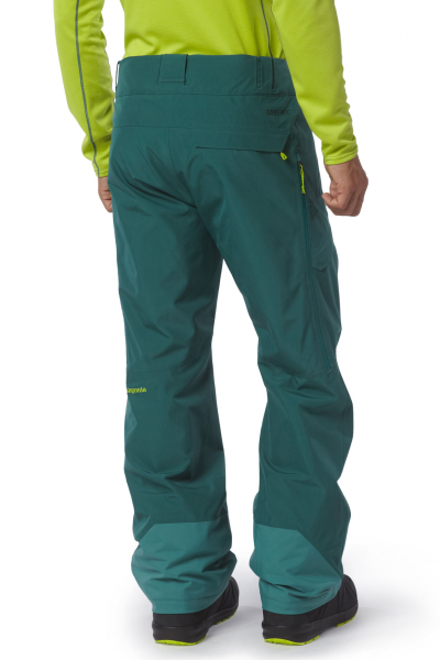 Patagonia Mens Power Bowl Pants arbor green angezogen hinten