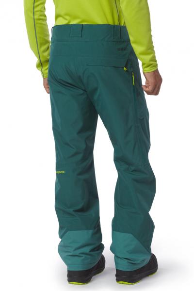 Patagonia Mens Power Bowl Pants arbor green angezogen hinten