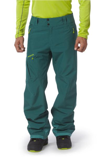 Patagonia Mens Power Bowl Pants arbor green angezogen vorn
