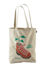 Canvas Bag Live Simply Planted