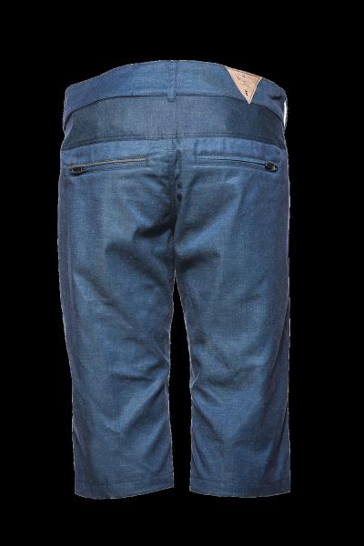 Triple2 Kort Shorts für Frauen denim hinten