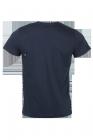 LAAG Bio-Baumwollshirt für Herren in dunkelblau Bikeprint vvon hinten