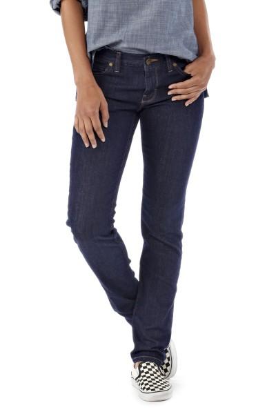 Patagonia Women Slim Jeans vorne denim blue 2