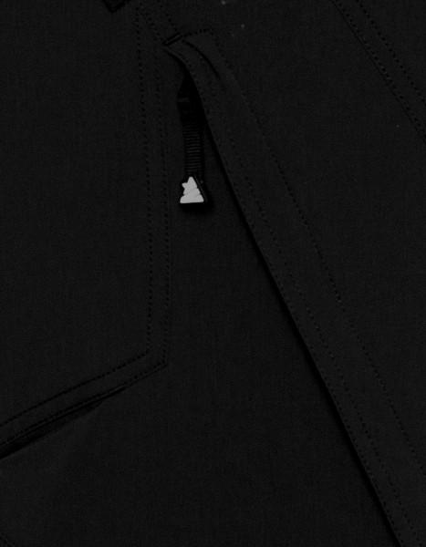 Zimtstern Tauruz Bike Shorts black reflektierendes Logp