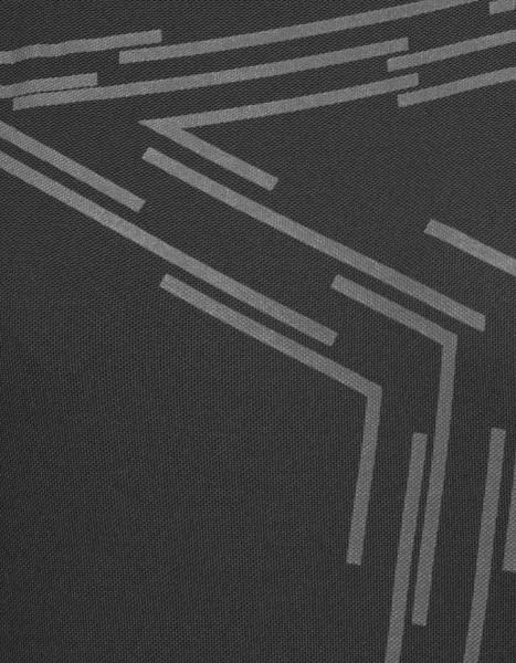 Zimtstern Krizta Bike Shirt Frauen schwarz detail muster