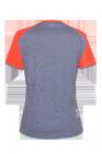 Zemra Zimtstern Bike Shirt für Frauen marine hinten