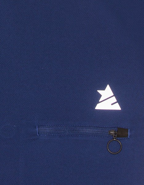 Zimtstern Cloryz Bikeshirt Männer Marine detail reflektierndes Logo