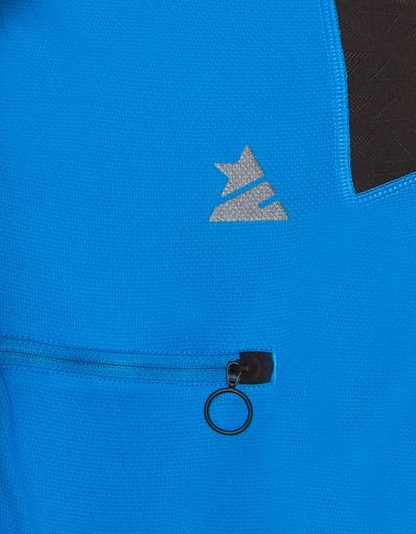 Zimtstern Cranez Bikeshirt Männer Marine detail Tasche logo