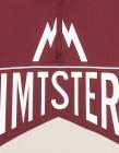 Zimtstern Cranez Bikeshirt Männer Ruby Wine detail logo