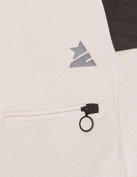 Zimtstern Cranez Bikeshirt Männer Ruby Wine detail Tasche logo