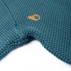 knitted structured jumper gesticktes Bleed-Logo