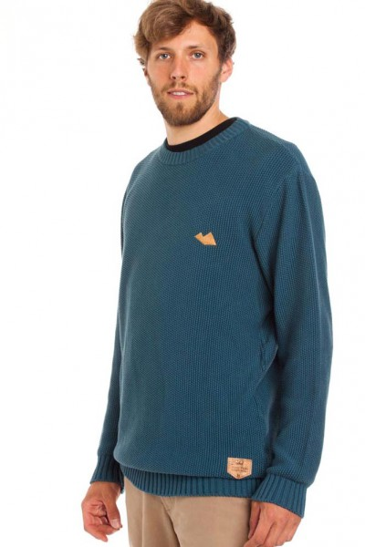 knitted structured jumper Strickpullover frontansicht