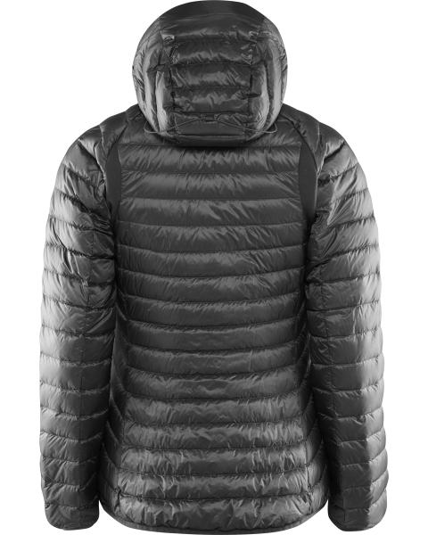 Haglöfs Essence III Down Hood Daunenjacke für Frauen magnetite peacock hinten
