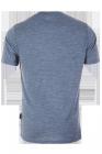 pally hi  t-shirt wilderness heathersky für Männer hinten