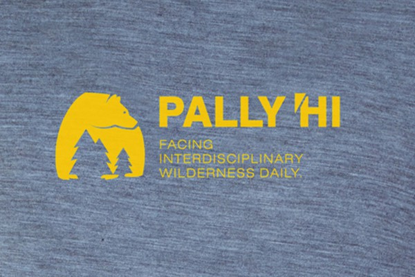pally hi  t-shirt wilderness heathersky LOGO