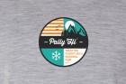 pally hi  t-shirt nationalpark heathergrey LOGO