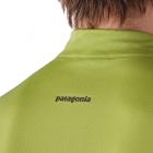 Patagonia Fore Runner Shirt kurzärmliges Lauf- und Radshirt für Herren Detail kragen