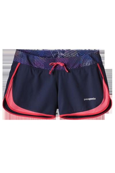Womens Strider Shorts Navy Blue/ Shocking pink