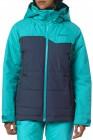 Women's Rubicon Jacket - Ski- und Sbnowboardjacke für Frauen navyblue angezogen