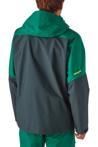 Men's Snowshot Jacket - Ski- und Snowboardjacke Herren angezzogen hinten