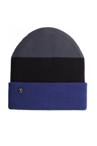 Folded Beanie dark grey