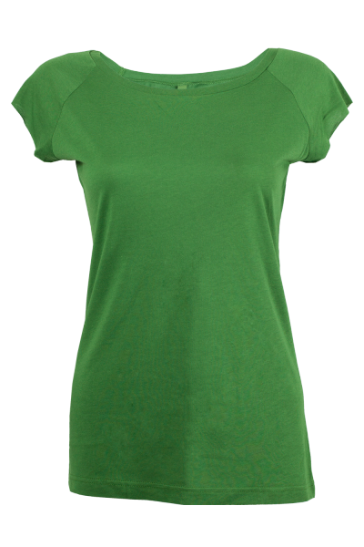 Nandu T-Shirt Damen leaf front